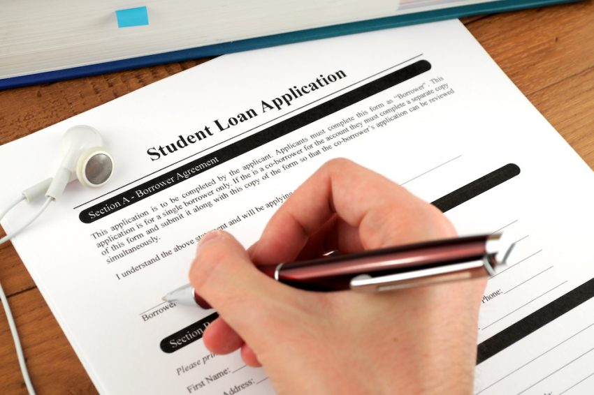 how to take out a private student loan
